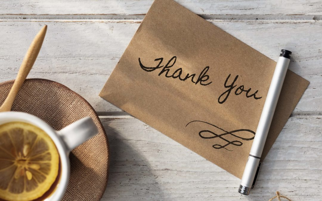 Why a simple thank you is important for relationships
